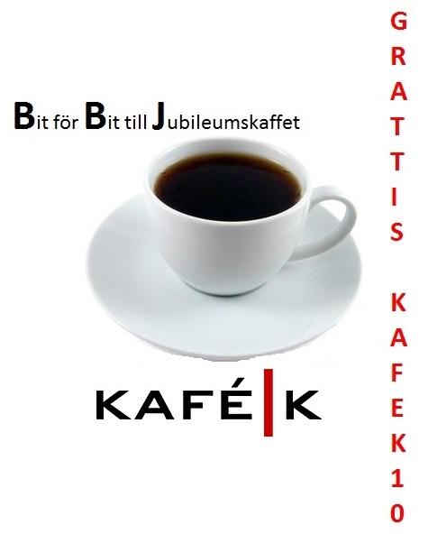 Bit för Bit till Jubileumskaffet-logga