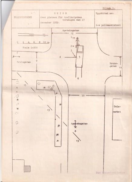 Skolslut_Skiss på olycksplatsen 1959 RET_600