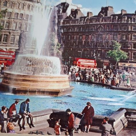 FS_23 augusti_Ethel Hedström3_London Trafalgar Square 1960-tal