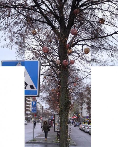 01Julpyntade trädet_600