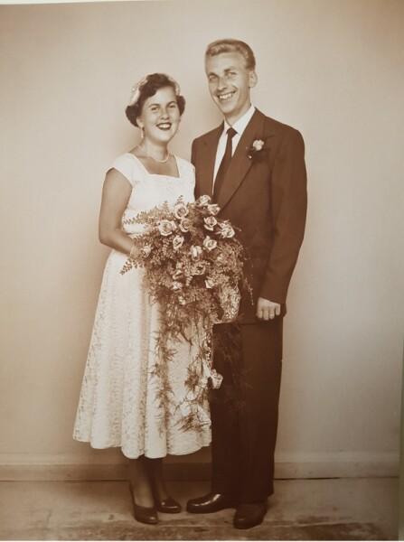 Bröllop 1955 Ethel & Gösta2_600