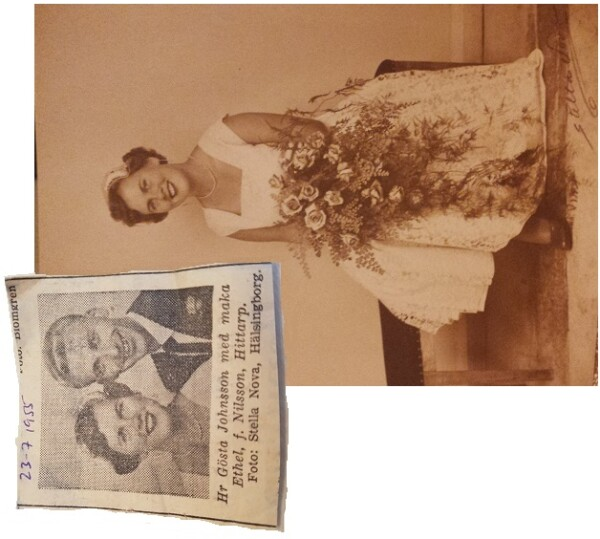 Bröllop 1955 kollage _564