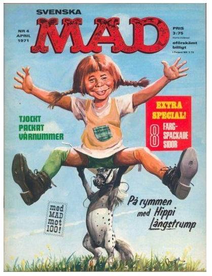 MAD som Pippi